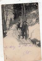 LE SEPEY DANS LA FORET EN HIVER  (CARTE PRECURSEUR ) - VD Vaud