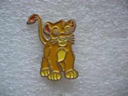 Pin's Du Petit Lion SIMBA - Comics