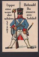 B57 /   Lippe Detmold Soldat , Lippische Schützen Regiment ( 1870 ) 1941 - Otras Guerras