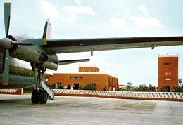 AVIATION CIVILE : BIMOTEUR à HÉLICES Sur AÉROPORT : LIBYA - GHADAMES AIRPORT ~ 1970 - RRR ! (ah396) - 1946-....: Ere Moderne