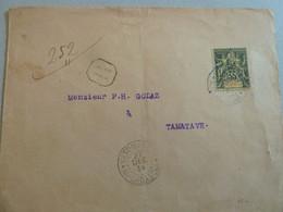 COLONIES FRANCAISES/MOHELI PLI POUR MADAGASCAR TTB - Briefe U. Dokumente