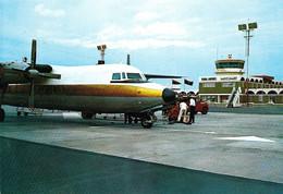 AVIATION CIVILE : BIMOTEUR à HÉLICES Sur AÉROPORT : LIBYA - SEBHA AIRPORT ~ 1970 - RRR ! (ah397) - 1946-....: Ere Moderne