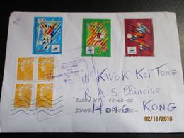 Lettre Refusée Pour HONG KONG - Storia Postale