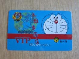 Doraemon Sushi VIP Card - Unclassified