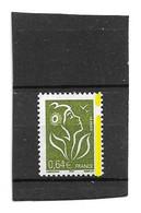 Lamouche 0.64 € Olive Type I YT 3756e Avec Phospho à Cheval . Superbe , Voir Le Scan . Cote YT : 8 € . - Varietà: 2000-09 Nuovi