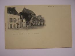 CREIL  Abbaye De Saint-Evremond (Cour Du Chateau)  Editeur A Morel - Creil