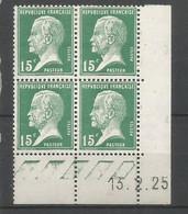 Coins Datés De France Neuf *  N 171  Année 1925  Charnière En Haut - ....-1929