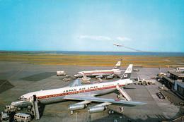 AVIATION CIVILE - TOKYO : AÉROPORT INTERNATIONAL AIRPORT - AVION QUADRIMOTEUR : DAISEN / JAPAN AIR LINES - 1970 (ah398) - 1946-....: Ere Moderne