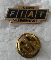 Pin's - Automobiles - Fiat - A. LIMES - VILLENEUVE / LOT - - Fiat