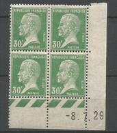 Coins Datés De France Neuf *  N 174  Année 1929  Charnière En Haut - ....-1929