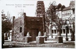 ► CPSM  Exposition Universelle  Paris 1931    L'Afrique-Occidentale Française  Palais  Ivoirier Et Orfèvre - Tentoonstellingen