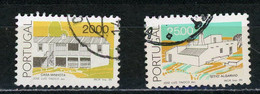 PORTUGAL - ARCHITECTURE - N° Yvert 1640+1641 Obli. - Used Stamps