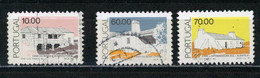 PORTUGAL - ARCHITECTURE - N° Yvert 1690+1692+1693 Obli. - Used Stamps