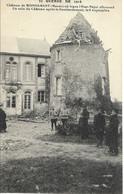 CPA 51 MONDEMENT Château Guerre De 1914 état Major Allemand - Otros Municipios
