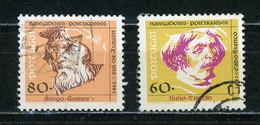 PORTUGAL - NAVIGATEURS - N° Yvert 1837+1838 Obli. - Used Stamps