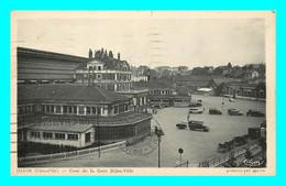 A799 / 133 21 - DIJON Cour De La Gare Dijon Ville - Dijon