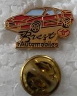 Pin's - Automobiles - Toyota - BREST AUTOMOBILES - - Toyota