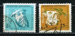 PORTUGAL - NAVIGATEURS - N° Yvert 1984+1987 Obli. - Used Stamps