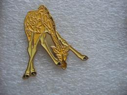 Pin's D'une Giraffe - Animals
