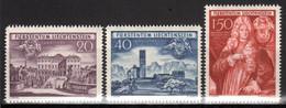 LIECHTENSTEIN, 1949 250-Jahr-Feier Unterland, Postfrisch ** - Unused Stamps
