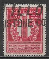 Italy 1949. Scott #526 (U) Voltaic Pile - 1946-60: Afgestempeld