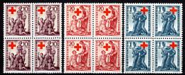 LIECHTENSTEIN, 1945 Wohltätigkeit Rotes Kreuz, Postfrisch ** Im Viererblock - Other