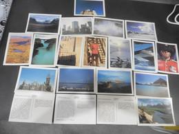 LOT DE   12      CARTES  POSTALES   NEUVES    DU   CANADA - 100 - 499 Postcards