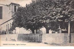 01 . N° 103221 .ferney Voltaire .eglise Catholique . - Ferney-Voltaire