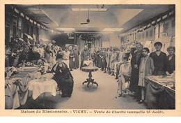 03 . N° 103250 .vichy .maison Du Missionnaire .vente De Charite . - Vichy