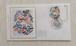 Belgium 1998 - OBP/COB 2744 - FDCz/s - Kunst België/Art Belgique - Cobra/Karel Appel/C.Dotremont - MINT - 1991-00