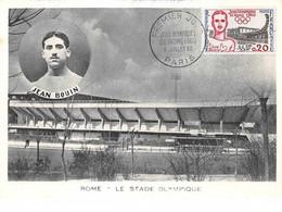 Sport.n°58061.rome.le Stade Olympique.carte Maximum.1960 - Giochi Olimpici
