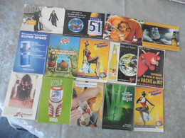 LOT DE    360   CARTES  POSTALES   DE  PUBLICITE  (  FRANCE  ET  ETRANGER) - 100 - 499 Postcards