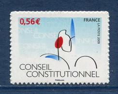 ⭐ France - Adhésif - Autoadhésif - Yt N° 337 ** - Neuf Sans Charnière - 2009 ⭐ - Sellos Autoadhesivos