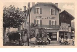01 - N°110742 - Grilly - Hôtel Favre - Altri Comuni