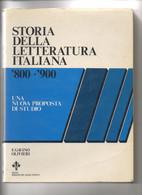 Storia Della Letteratura Italiana 800-900   106 - Storia, Filosofia E Geografia