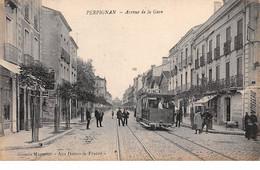 66 - N°111458 - Perpignan - Avenue De La Gare - Tramway - Perpignan