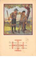 Scoutisme - N°63822 - La Lot Scoute, Article 9 - Le Scout Est économe ...-  Carte Vendue En L'état - Scouting