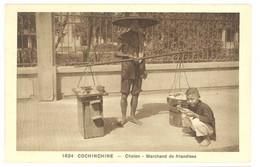 Cpa Asie - Cochinchine - Cholon - Marchand De Friandises - Vietnam