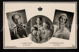 Postcard / ROYALTY / België / Belgique / Reine Astrid / Koningin Astrid / Roi Leopold III / Koning Leopold III / 2 Scans - Case Reali