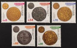 Portugal 2021 - Portuguese Numismatic, Coins Set MNH - Unused Stamps