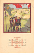 Scoutisme - N°63825 - La Loi Scoute, Article 4 - Le Scout Est L'ami De Tous ... Autre Scout - Carte Vendue En L'état - Scouting