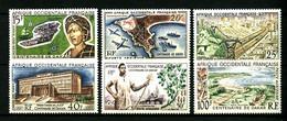 AOF - PA  22 / 27 - Centenaire De Dakar - Complet 6 Valeurs - Neufs N* - Très Beaux - Unused Stamps
