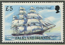 FALKLANDINSELN / MiNr. 517  / Segelschiffe, Die Kap Hoorn Umsegelten (II) / Postfrisch / ** / MNH - Boten