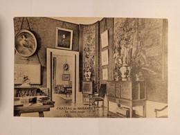 63 - BARANTE - Le Chateau - Le Salon Rouge - Dorat , Thiers - Cpa - Puy De Dome - Altri Comuni
