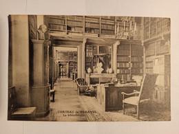 63 - BARANTE - Le Chateau - La Bibliotheque - Dorat , Thiers - Cpa - Puy De Dome - Altri Comuni