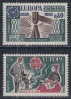 ANDORRA 274-275, Postfrisch **, Europa CEPT: Kunsthandwerk 1976 - 1976