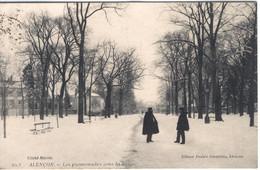 ALENCON - Les Promenades Sous La Neige - Alencon