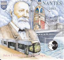 FRANCE 2003 - Feuillet Souvenir CNEP N38 Neuf** Jules Verne - CNEP