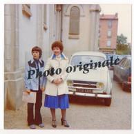 Photo Originale Auto Voiture Automobile Car - RENAULT 4 R4 4L - CITOËN CX - R16 - Femme Et Garçon - Coches