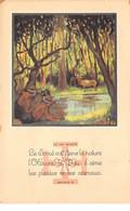 Scoutisme - N°63828 - La Loi Scoute, Article 6 - Le Scout Voit Dans La Nature ... - Carte Vendue En L'état - Scouting